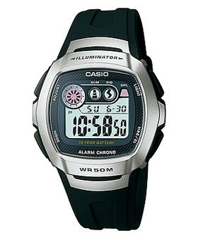 Casio Mens W-210-1CVDF Digital Watch
