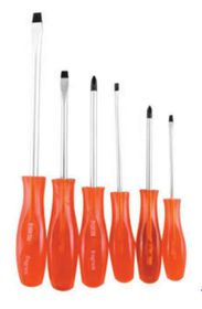 Fragram - Screwdriver Set Black Tip - 6 Piece