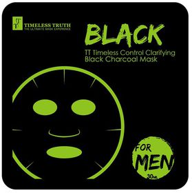 Timeless Truth Timeless Control Clarifying Black Charcoal Mask For Men - 30ml