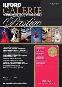 Ilford Prestige Lustre Paper 11 A4 Photo Paper