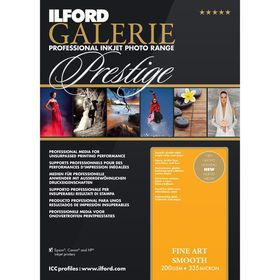 Ilford Prestige Fine Art Smooth A4 Photo Paper