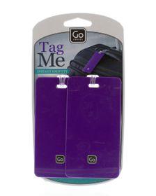 Go Travel Tag Me - Purple