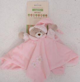 Snuggletime - Classical Plush Bear Dudu - Pink