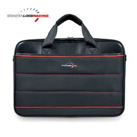 "Port SLR Racing Top Loading Laptop Bag 15.6"" - Black/Red"