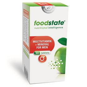 Foodstate Multivitamin & Mineral for Men - 60s