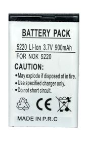 Scoop Battery For Nokia 5220 SBLI (Bl-5CT)