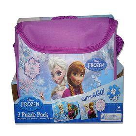 Frozen 3 Puzzles In Bag