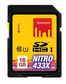 Strontium 16GB SDHC UHS-1 NITRO 433X CARD