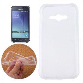 Tuff-Luv Gel Case (TPU) for Samsung Galaxy J1 Ace - Clear