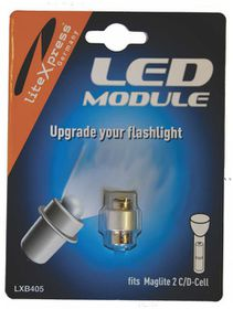 Maglite - 2 To 3 Cell DC LED Flashlights Cree Upgrade Module