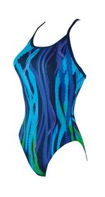 Women's Zoggs Fairlight Sprintback Swimming Costume