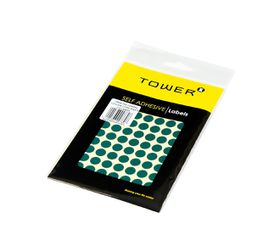 Tower C10 Colour Code Labels (Sheets) - Green