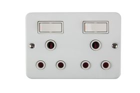 Nexus - Switch Socket Industrial - 2 x 16A