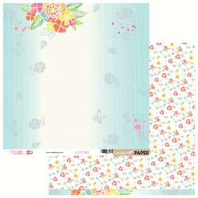 Celebr8 Let's Chat Double Sided Paper - A Little Note (10 Sheets)