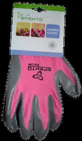 Efekto - Pink Nitrile Gloves - Medium