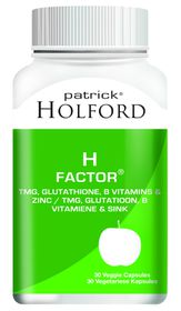 Patrick Holford H-Factor Vegi Capsules - 30'S