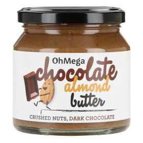 OhMega Chocolate Almond Butter - 250g