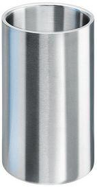 Isosteel - Double Wall Bottle Cooler - Silver