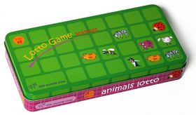 The Purple Cow Lotto Game Animals