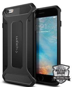 SPIGEN Ultra Rugged Case for iPhone 6s Plus - Black