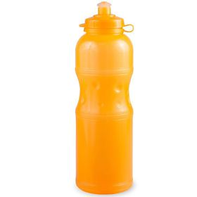 Lumoss - Sportec 4 - 750ml Water Bottle - Semi Transparent Neon Orange
