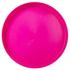 Lumo - Plastic Round Tray 35cm - Magenta