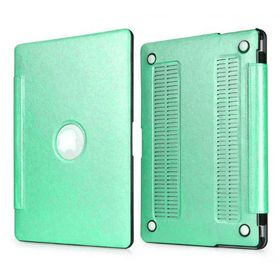 "Tuff-Luv Slim Skin Case for Apple Macboook 13"" - Glacier Aqua"