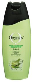 Organics Normal 2-In-1 Shampoo - 400ml