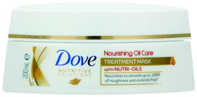 Dove Nutritive Solutions Nourishing Oil Care Dry Hair Treatment Mask - 200ml