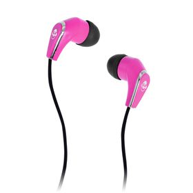 Idance Stereo Earphone Without Mic Pink