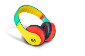 Idance Yellow and Red Over Ear Headphone