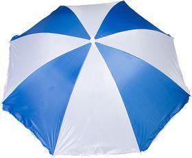 Marco Beach Umbrella - Blue and White
