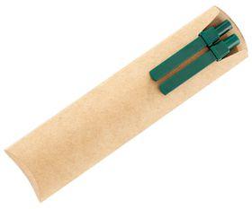 Holbay Pens Eco Pen & Pencil Set with Green Trim