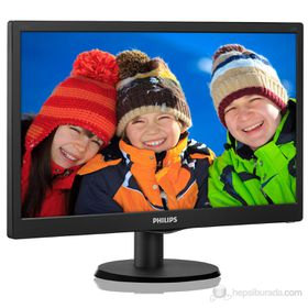 "Philips 193V5LSB2 18.5"" LED VGA Monitor"
