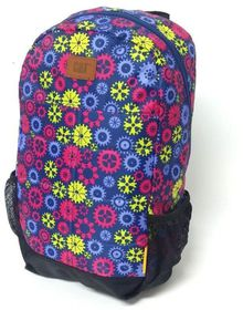 CAT Benji Backpack - Wheels & Fuschsia Navy