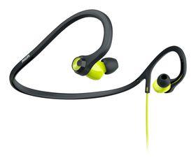 Philips SHQ4400 Actionfit Headphone - Black/Green