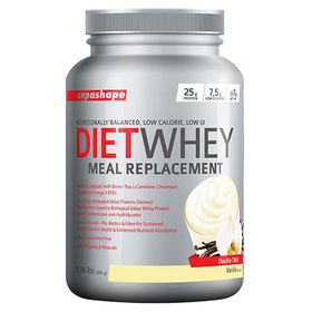 Supashape Diet Whey Meal Replacement 800g - Vanilla