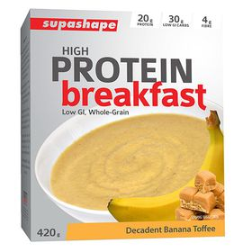 Supashape Protein Cereal - Banana Toffee