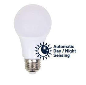 Ellies - 5W ALS LED E27 Automatic Day & Night Sensing