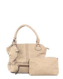 Parco Collection Camel Handbag