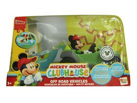 Mickey Club House Vehicle Plus Boat
