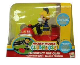 Mickey Club House Emergency Quad