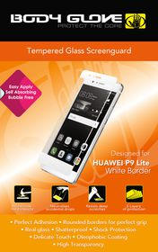 Body Glove Tempered Glass Screenguard for Huawei P9 - White Border