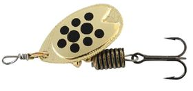 Abu Garcia - Fast Attack Spinners Bait - Gold & Black Dots - 7g
