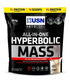 USN Hyperbolic Mass Vanilla - 1Kg