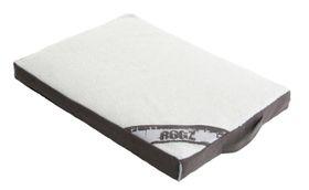 Rogz - Large Flat Lounge Pod Dog Bed - Grey