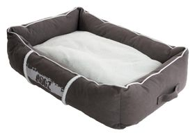 Rogz - Large Lounge Pod Large Dog Bed - Grey