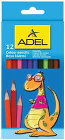 Adel 12 Full Length Colour Pencils
