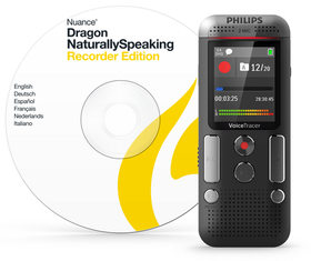 Philips Digital Voice Recorder DVT2710 with Dragon Software