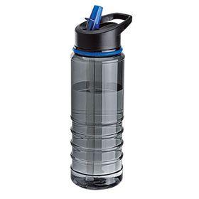 Eco - 750ml Triton Bottle With Straw - Blue